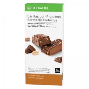 Barritas con proteínas Herbalife - Chocolate y Cacahuete