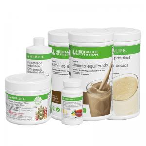reto 21 días Herbalife con proteínas