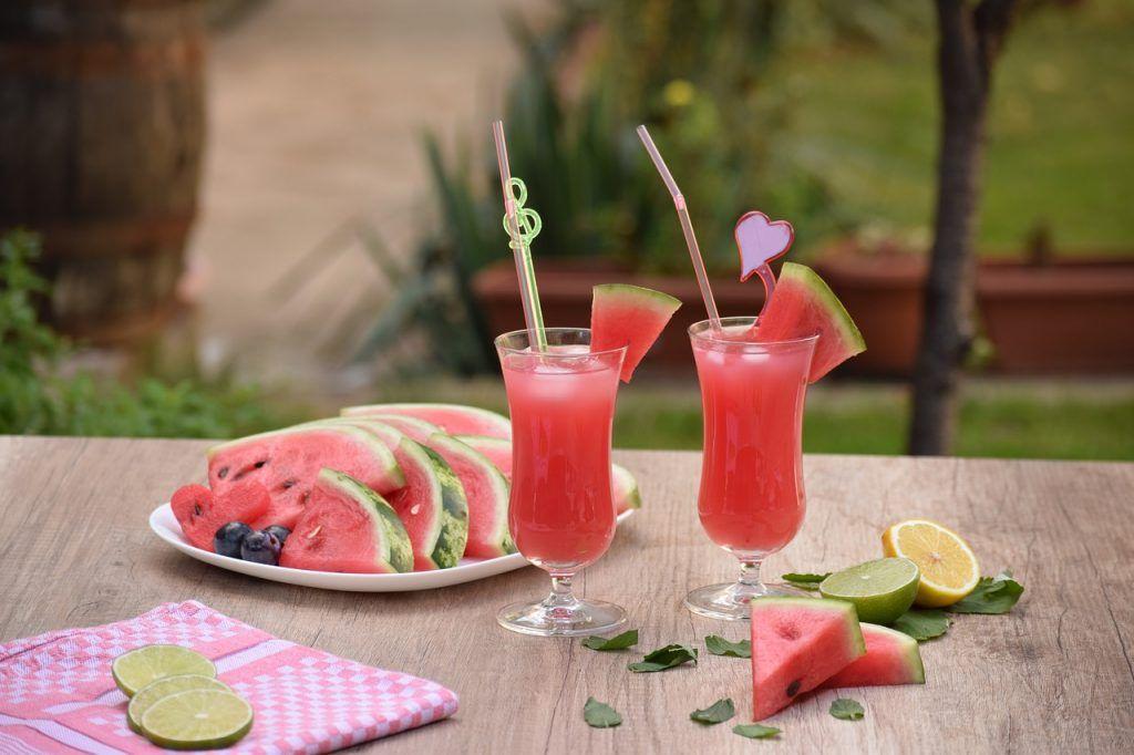 batido sandia y melón